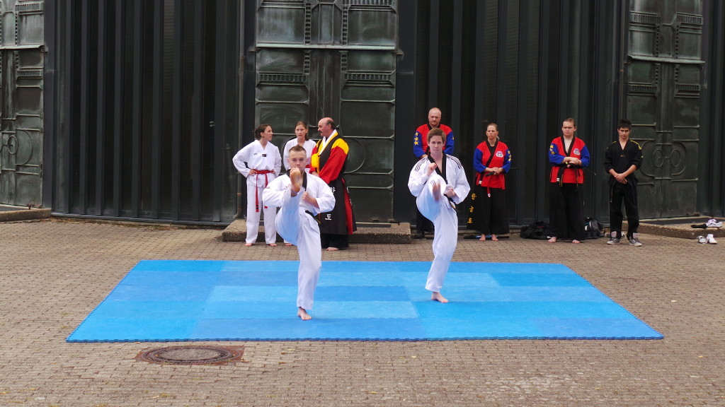 Demonstration Kampfsport