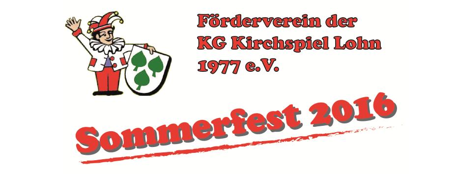 Beitragsbild Sommerfest KG 2016